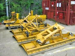 1 Cuthbertson 8ft Wide Snow Plough Direct From Council With Euro 8 Bracket