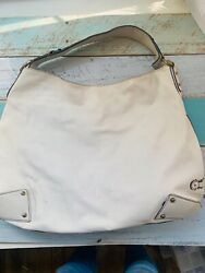 Cole Haan White Leather HOBO bag $39.95