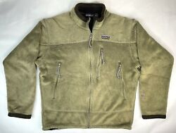 Vintage Menand039s R1 Fleece Jacket Size L Made In Usa