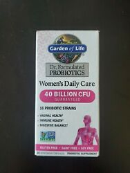 Garden Of Life Dr Formulated Probiotics Womenand039s Daily Care 30 Capsules