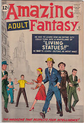 Amazing Adult Fantasy 12 Includes Stan Lee And Steve Ditko Collaboration 1962