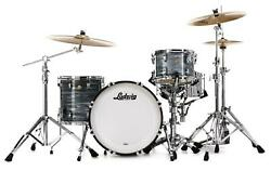 Ludwig Classic Maple Downbeat 20 Shell Pack - Vintage Blue Oyster