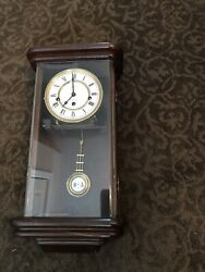 Seth Thomas Wall Clock Non Working For Parts Or Repair Made In Germany