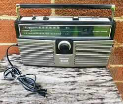 Panasonic Rs-836a Vintage Stereo 8 Track Tape Player Am-fm Boombox. Works Great.