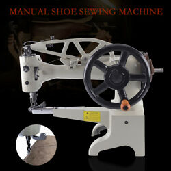 Patcher Sewing Machine Hand Crank Industrial Shoe Repair Boot Patcher 11.8'' Usa
