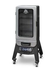 Vertical Smoker Digital Electric Silver Star 3-series Outdoor Cooking Home Cook