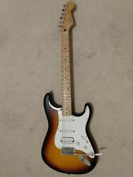 Fender Stratocaster Guitar Made In Mexico Good Condition