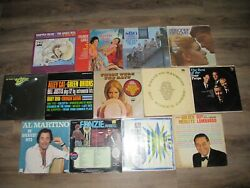 Lot Of 17 Vinyl Records Lp Vintage Jazz Pop Easy Listening From 50's And 60's