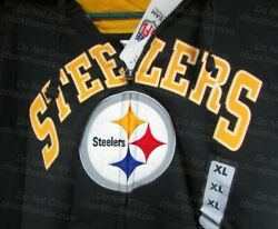 Pittsburgh Steelers Quality Zippered Hoody X Large New W Tag