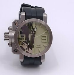 Us Seller Needs Battery Quartz Men Gearbox Limited Camouflage Variant