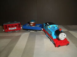 Thomas And Friends Trackmaster Slippy Sodor Slippery Red Funnel 2009 Rare