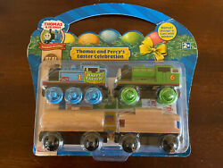 2009 Learning Curve Wooden Thomas Train Thomas And Percyandrsquos Easter Celebration New