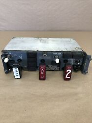 See Descr The Boeing 737 Engine And Apu Fire Control Panel 69-37307-300