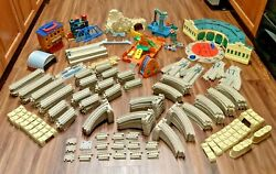 Huge Thomas The Train Lot Track Buildings Accessories Tomy Gullane Trackmaster