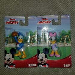 Daisy And Donald Duck Mini Figures Toy Cake Toppers, Disney Collectibles, New