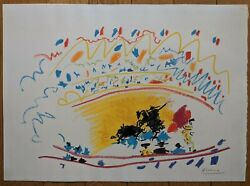 Marc Chagall Lithograph Original Signed