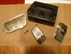 Suzuki Gt750 1974-77 Air Box W S Chrome Covers And Filter Screen