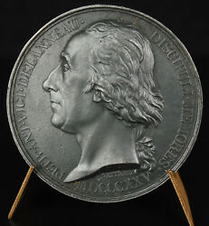 Medal In The Priest Defrocked Victor Ring Freemason 1825 Sc Gatteaux Medal