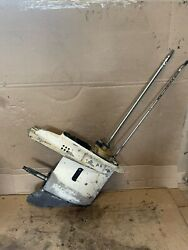 Used Lower Unit / Gearcase Johnson Evinrude 1989-1992 40 48 50 Hp Outboard Motor