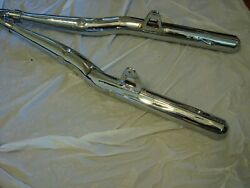 Suzuki Gt750 Show Exhaust 1974-77 Beautiful Front And Back 4 Show