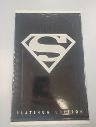 Dc Comics Adventures Of Superman 500 Platinum Edition Sealed In Polybag 1993