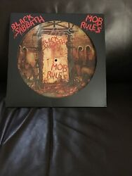 Vinyl Records- Black Sabbath- Mob Rules- Special Limited Edition Picture Signed
