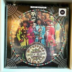 Sgt. Pepper The Beatles 1978 Vinyl Capitol Records Le Picture Disc Sealed