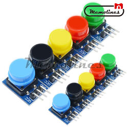 1-10 X Big Key Button Light Touch Switch 12x12mm Hat Output Module For Arduino