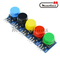 10 X Big Key Button Light Touch Switch 12x12mm Hat Output Module For Arduino