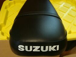 Suzuki Nos Tc125 Seat Vintage Stock From Closed Local Dealer Fits Others