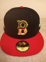 BOSTON REDSOX 59FIFTY BLUE RED NEW ERA 7 1 2 FITTED HAT