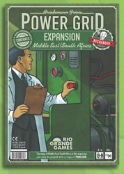 Middle East/south Africa Expansion Power Grid Board Card Game Rio Grande New