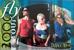 Dixie Chicks Fly 2000 Tour Poster - The Girls Looking Beautiful Hot Country
