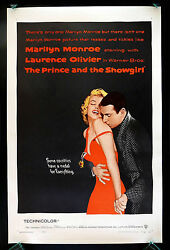 And The Showgirl Cinemasterpieces Original Movie Poster Marilyn Monroe