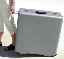 S And S Coupling 10 Side Pull Grey Hard Travel Case