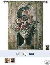 Spring Floral Tapestry and FREE Rod NEW