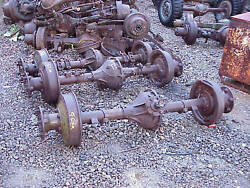 White M3a1 G67 Military Scout Car Rear Axle Assembly