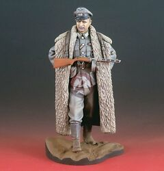Verlinden 120mm 1/16 German Officer With Ppsh-41 In Eastern Front Wwii 2112