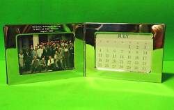 National Museum of Racing Hall of Fame Reunion Photo & Engraved Calender 1990