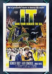 It Came From Beneath The Sea Cinemasterpieces Sea Monster Horror Movie Poster