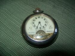 Hebdomas Antique 8 Days Men's Pocket Watch With Cover