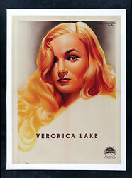 Veronica Lake Cinemasterpieces French Movie Poster Beautiful Blonde Sexy 1944