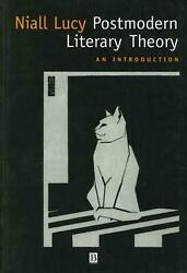 Postmodern Litry Theory An Introduction By Niall Lucy English Paperback Book