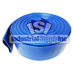 Water Discharge Hose | 3 | Blue | Import | 100 Ft | Free Shipping