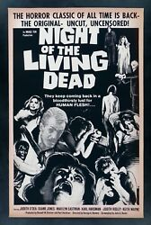 Night Of The Living Dead ✯ Cinemasterpieces Zombie Vintage Movie Poster 1978r