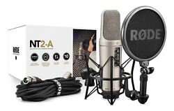 Rode NT2-A Condenser Mic - Studio Solution Package!