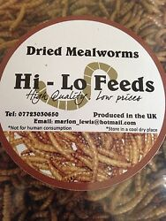 Sold Out 1kg Dried Mealworms