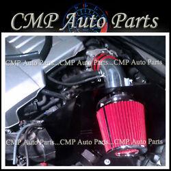 Red Air Intake Kit Heatshield Re Fit 2007-2011 Toyota Camry Le/se/xle 3.5 3.5l