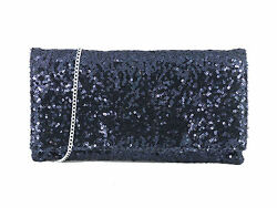 Sparkly Sequin Party Evening Clutch Shoulder Bag