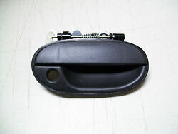 1998 Accent Outer Front Passengers Black Plastic Door Handle See Note
